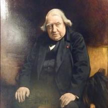 Portrait d'Ernest Renan dans sa maison à Tréguier